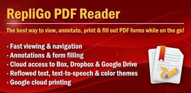 نرم افزار PDF خوان RepliGo PDF Reader v4.2.7 – اندروید