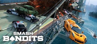 دانلود بازی تعقیب و گریز Smash Bandits Racing v1.08.03 – اندروید
