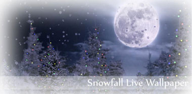 لایو والپیپر برف زمستانی Snowfall Live Wallpaper v2.27 – اندروید