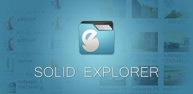 دانلود نرم افزار مدیریت فایل ها Solid Explorer Full 1.5.8 – اندروید