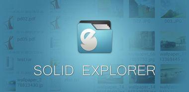 نرم افزار مدیریت کامل فایل ها با Solid Explorer Full 1.6.3 – اندروید