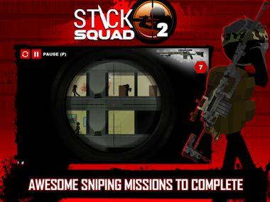 دانلود بازی فوق العاده زیبا Stick Squad 2 Shooting Elite v1.0.7 – اندروید