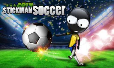 دانلود بازی فوتبال آدمک کوچک Stickman Soccer 2014 v1.6 – اندروید