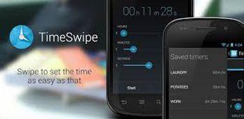 دانلود نرم افزار گرافیکی تایمر TimeSwipe – Timer v2.1.2 – اندروید