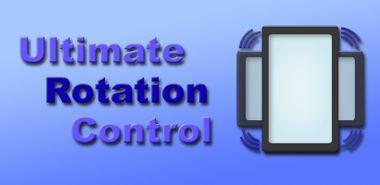 دانلود نرم افزار چرخش صفحه نمایش با Ultimate Rotation Control 5.5.1 – اندروید