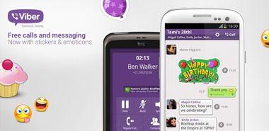 تماس و پیامک رایگان Viber : Free Calls & Messages v4.2.0.1656 – اندروید