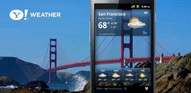 دانلود نرم افزار هواشناسی یاهو Yahoo Weather 1.1.4 – اندروید