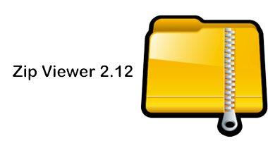 آخرین نسخه نرم افزار Zip Viewer 2.12 برای باز کردن فایل زیپ – اندروید