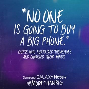 سامسونگ موبایل شروع به تمسخر اپل کرد!