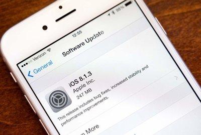 بروزرسانی به نسخه iOS8.1.3 منتشر شد!