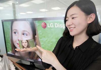 رونمایی اولین صفحه نمایش ۵ اینچی HD از سوی LG