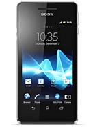 مشخصات گوشی Sony Xperia V